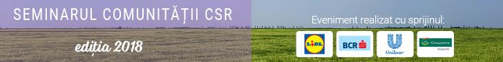 Seminarul Comunitatii CSR 2018