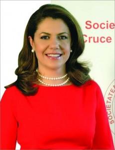 Mihaela Geoana_ Presedinte al Societatii Nationale de Cruce Rosie-Romania