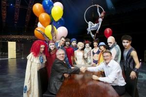 DHL_Cirque_du_Soleil_Sign_Partnership_Agreement
