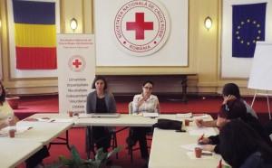 Crucea Rosie lansare proiect- Voluntariat