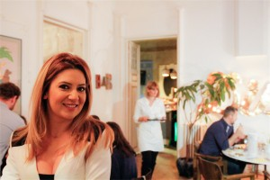 Cina-HHC-restaurantul Voila Bistrot-Amalia-Enache