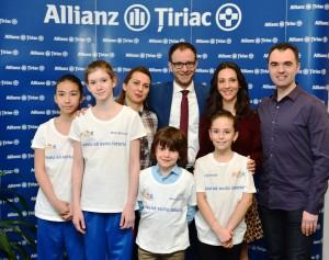 FOR, Allianz Tiriac, tineri bursieri si antrenorii lor (1)