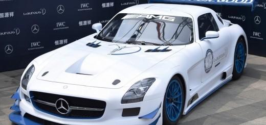 Mercedes-Benz & Fundatia Laureus Sport for Good China - Mercedes-Benz SLS AMG GT3