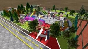 Proiect parc verde