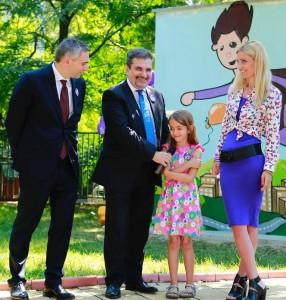 Enel _ Toni Volpe, Country Manager, Radu Cosarca, director comunicare Enel si Adela Chirica