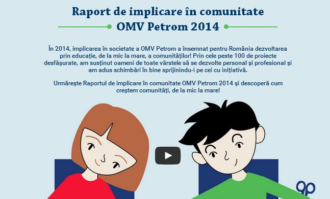 OMV Petrom- Raport de Implicare in Comunitate - 2014