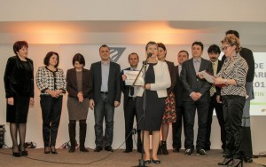 Echipa de Voluntari OMV Petrom la Gala Nationala a Voluntarilor 2015