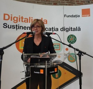 Brigitte Audy, Secretar General al Fundatiei Corporative a Grupului Orange