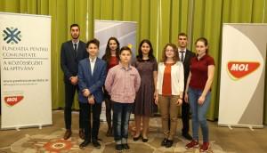 Ambasadorii Programului MOL de promovare a talentelor