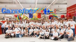 Carrefour - Echipele care au participat la cursa