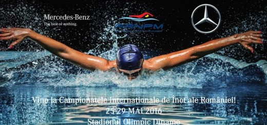 Mercedes-Benz sprijina Campionatele Internationale de Inot ale Romaniei