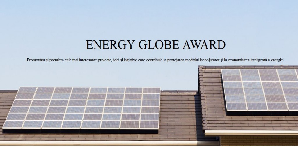 Eon - Competitie Energy Globe Award 2016