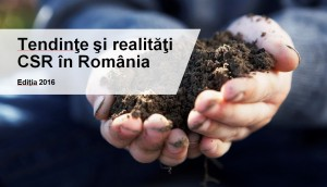 Seminar CSR- Studiu Tendinte si Realitati CSR in Romania 2016