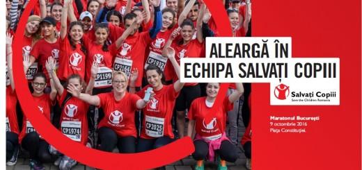 Echipa Salvati Copiii la maraton - 9 octombrie