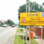Holcim Romania a montat 40 de panouri punct negru pe cele mai importante sosele nationale