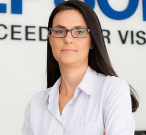 Simona Decuseara, Sales & Marketing manager Epson Romania si Bulgaria.
