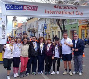 Angajati Sanofi la Maratonul International Cluj1