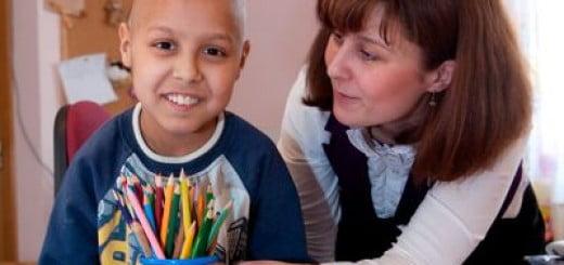 Angela Boghiu, voluntar al GSK pentru HOSPICE Casa Sperantei_2012