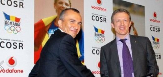 Mihai Ghyka - Chief Commercial Officer Vodafone Romania si Octavian Morariu-COSR