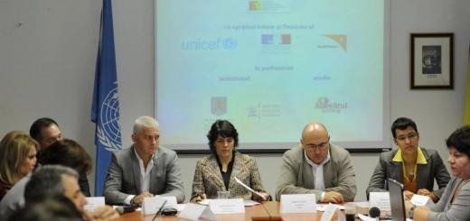 UNICEF_ Lansarea Platformei Nationale pentru Educatie 2013