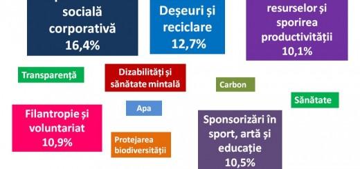Infografic_Domenii de interes pentru proiecte de CSR_Grayling