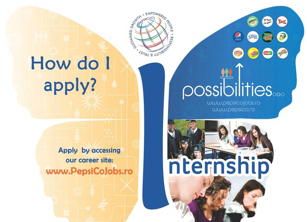 PepsiCo_Romania_Program_de_Internship_Butterfly Internship_2013