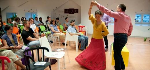 Fundatia PACT Dar din dar se face_ Alina Petrisan liciteaza cursuri de dans pentru copii
