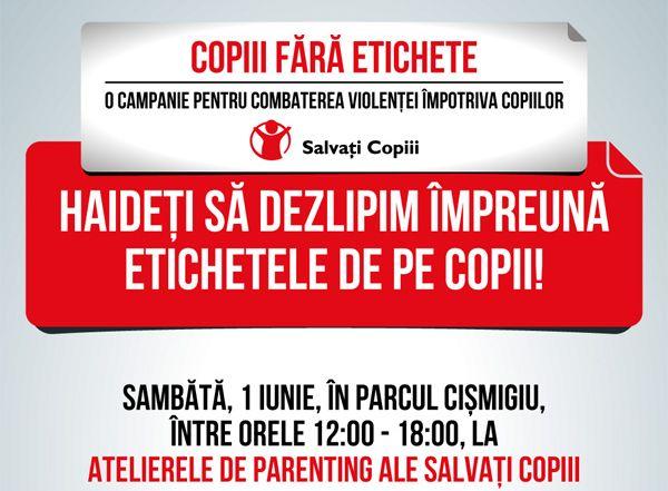 Salvati_Copiii_campanie_Copii_fara_Eticheta_eveniment_Cismigiu_2013