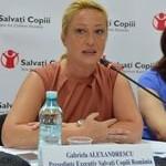 Gabriela Alexandrescu, presedinte_Salvati_Copiii