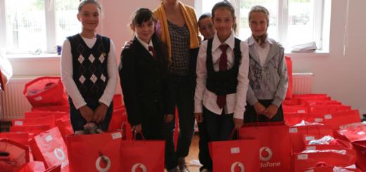 Fundatia Vodafone - scoala Costache Negri Galati 2013