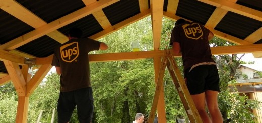 Voluntari UPS pentru Asociatia Ana si copiii