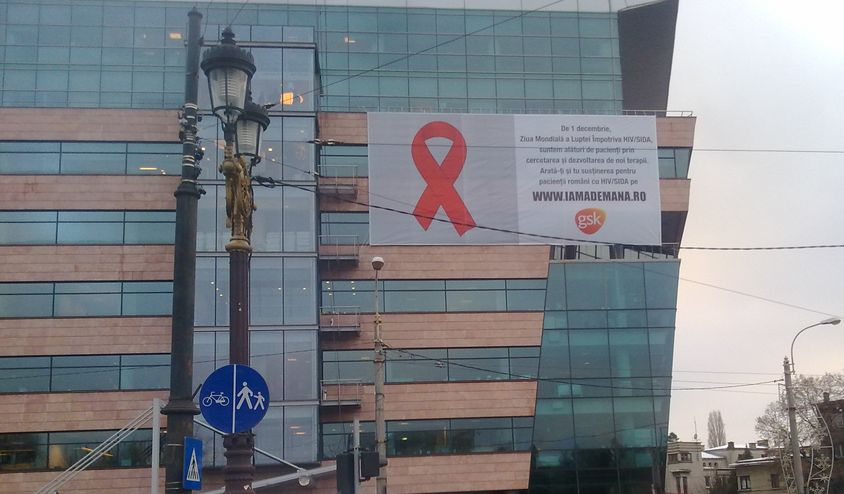 GSK - Ii sustinem pe pacientii cu HIVSIDA