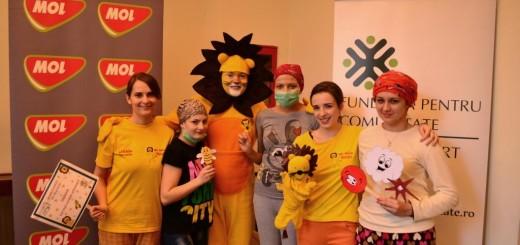 MOL pentru Sanatatea Copiilor - voluntari Little People
