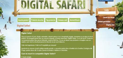 UPC Romania - Concurs Digital Safari