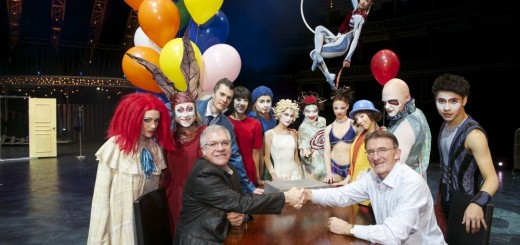 DHL_Cirque_du_Soleil_Sign_Partnership_Agreement