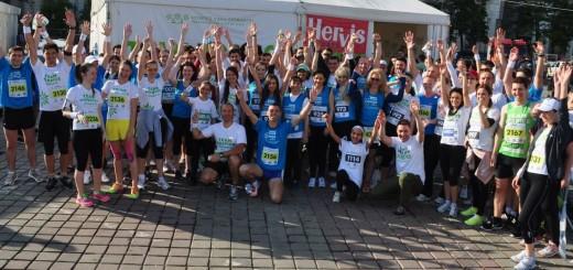 Echipa HOSPICE - Semimaratonul Petrom 2014