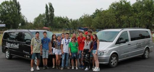 Mercedes-Benz & Cercetasii Romaniei (1)