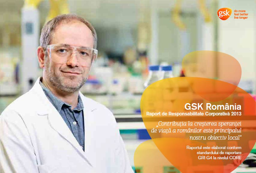 GSK_ Raport de Responsabilitate Sociala 2013