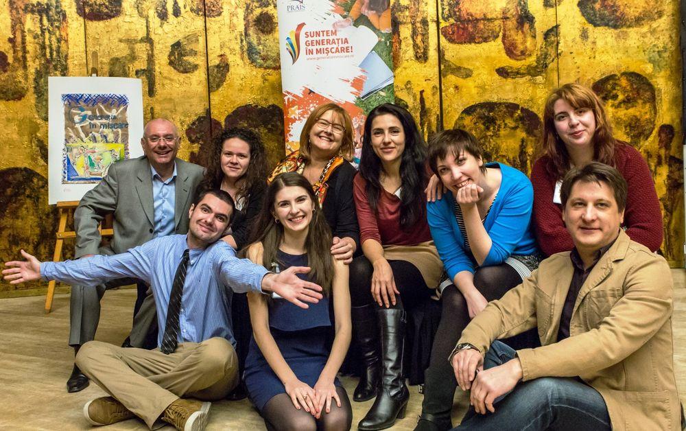 Echipa Fundatiei PRAIS la eveniment lansare SGIM - 2014