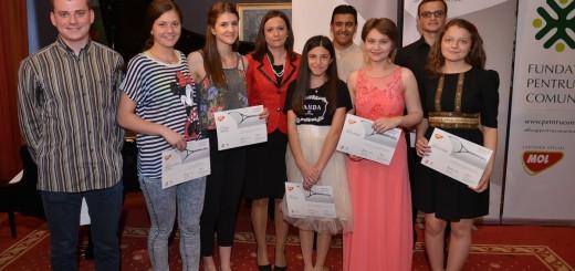 MOL_Romania_Kinga_Daradics si Ambasadorii Talentului_2015