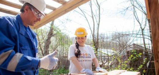 Voluntari OMV Petrom la CERC Boldesti Scaeni 2015