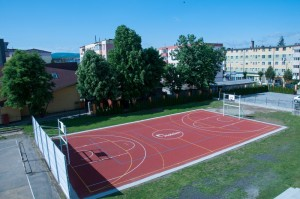 Holcim - teren de sport Alesd
