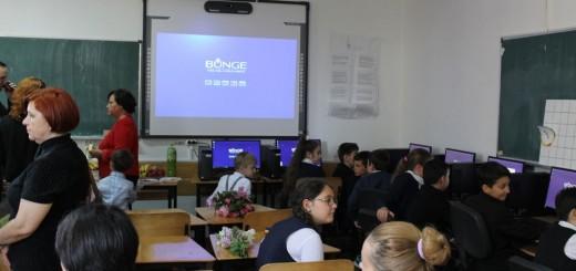Bunge - Noul Laborator al scolii din Lehliu Gara (II)