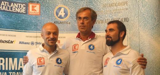 Kaufland - Andrei Rosu, Vasile Osean si Emil Curteanu - 3 membri din echipa Atlanti...