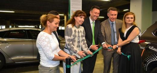 Lansare Statii de Incarcare Electrice_cora Lujerului