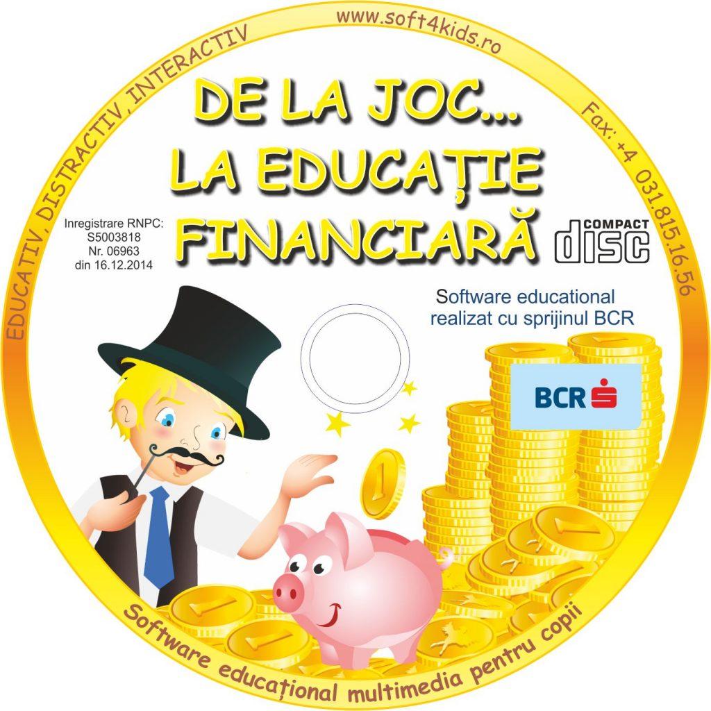 BCR De la Joc la Educatie Financiara