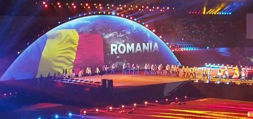 Delegatia Romaniei la ceremonia de deschdiere FOTE de iarna 2017