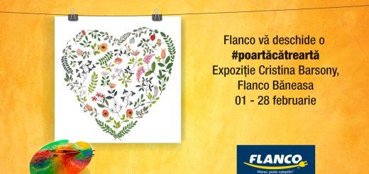 Expozitie Cristina Barsony la Flanco Baneasa_Poarta cate Arta