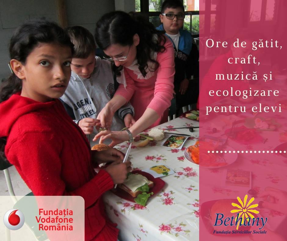 vodafone - fondul pentru educatie in mediul rural