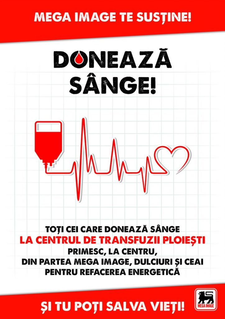 Mega Image - Doneaza Sange 2017